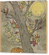 New Yorker October 31st, 1959 Wood Print