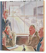 New Yorker September 15th, 1945 Wood Print