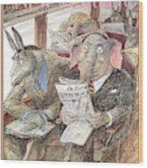 New Yorker September 28th, 1998 Wood Print