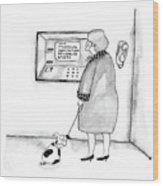 New Yorker September 5th, 1988 Wood Print