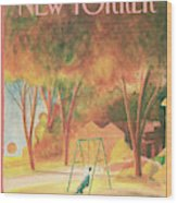 New Yorker September 9th, 1985 Wood Print