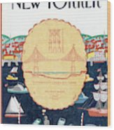 New Yorker September 9th, 1991 Wood Print