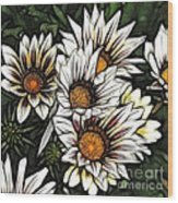 New Zealand Flowering Beauties Wood Print