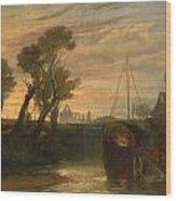 Newark Abbey Wood Print