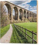 Newbridge Viaduct Wood Print