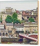 Newcastle Upon Tyne Quayside Wood Print