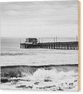 Newport Beach Pier Wood Print