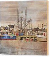 Newport Rhode Island Harbor II Wood Print