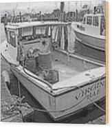 Newport Rhode Island Harbor Iv Wood Print