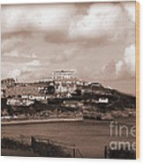 Newquay In Cornwall Wood Print