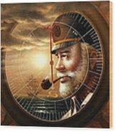 Imperishable Map Captain 1  Wood Print