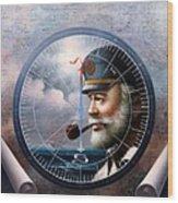 Imperishable  Map Captain 6 Wood Print