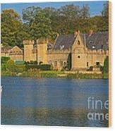 Newstead Abbey Gatehouse Wood Print