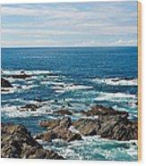 Next Stop America Wood Print by Jane McIlroy