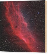 Ngc 1499, The California Nebula Wood Print