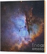 Ngc 281 Starbirth Region, Optical Image Wood Print