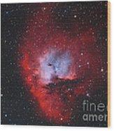Ngc 281, The Pacman Nebula Wood Print