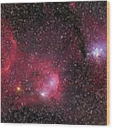 Ngc 3293, The Gem Cluster And Gabriela Wood Print
