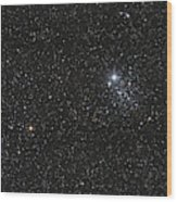 Ngc 457, The Owl Cluster Wood Print