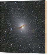 Ngc 5128 Radio Galaxy Wood Print