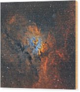 Ngc6820 - Beauty In Space Wood Print