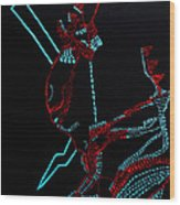 Nhialic - Deity - South Sudan Wood Print
