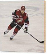 NHL: MAR 31 Capitals at Coyotes Wood Print