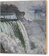 Niagara American Falls 2 Wood Print