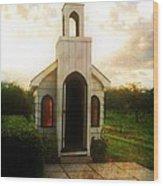 Niagara Church Wood Print