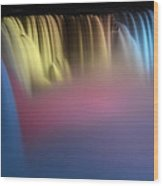 Niagara Color Wood Print