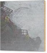 Niagara Falls - Cave Of The Winds Wood Print