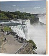 Niagara Falls - New York Wood Print