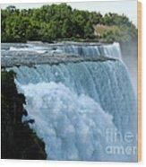 Niagara Falls American Side Wood Print