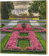 Niagara Falls Botanical Gardens Ontario Canada Wood Print
