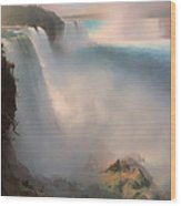 Niagara Falls From The American Side Wood Print