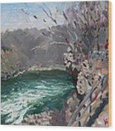 Niagara Falls Gorge Wood Print