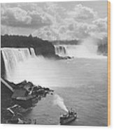 Niagara Falls Maid Of The Mist Wood Print
