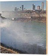 Niagara Falls Panorama Wood Print