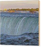 Niagara Panoramic Wood Print