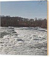 Niagara Rapids Wood Print