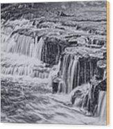 Niagara River Falls Wood Print