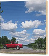 Nice Day For A Drive Wood Print