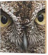 Nice Eyes Wood Print