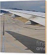 Nice Internationat Airport Wood Print