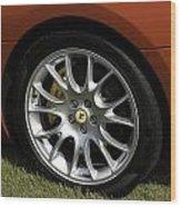 Nice Wheel Wood Print