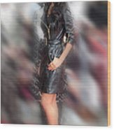 Nicole Scherzinger 24 Wood Print by Jez C Self