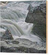 Nigel Creek Cascades Wood Print