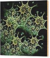 Night Lace Wood Print