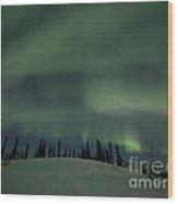 Night Lights Wood Print by Priska Wettstein