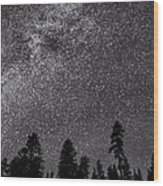 Night Serenity Wood Print